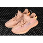 Adidas Yeezy Boost 350 V2 Clay Shoe In Pink Orange