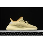 Adidas Yeezy Boost 350 V2 Marsh Shoe In Yellow Grey