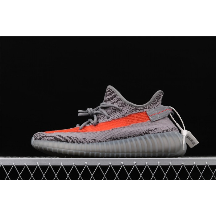 Adidas Yeezy Boost 350 V2 Shoe In Dark Gray Orange