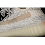 Adidas Yeezy Boost 350 V2 Shoe In Gray Cream