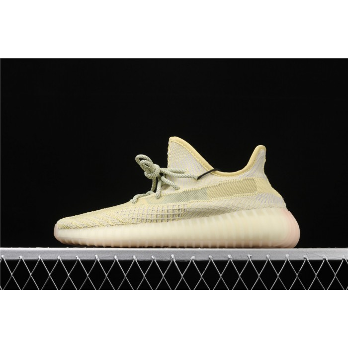 Adidas Yeezy Boost 350 V2 Shoe In Lemon Yellow