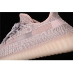 Adidas Yeezy Boost 350 V2 Synth Shoe In Silver Pink