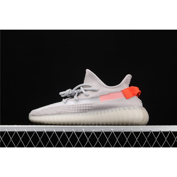 Adidas Yeezy Boost 350 V2 Tail Light Shoe In Smoke Grey