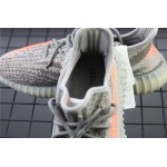 Adidas Yeezy Boost 350 V2 Real Basf Shoe In Gray Orange