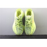 Adidas Yeezy Boost 350 V2 Real Basf Shoe In Yellow