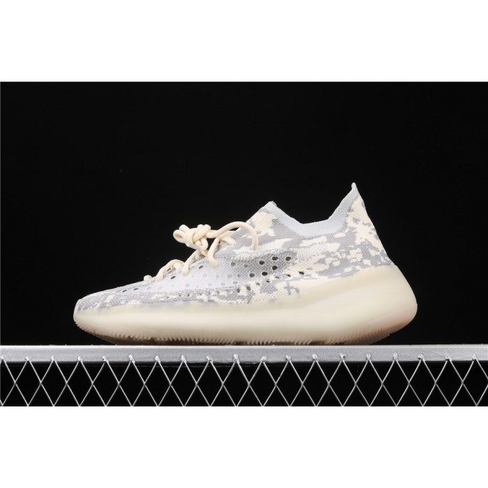 Adidas Yeezy Boost 350 V3 Shoe In Cream Grey