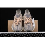 Adidas Yeezy Boost 380 V3 Shoe In Grey Orange