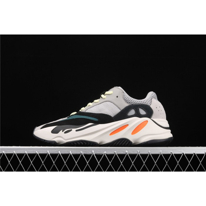Adidas Calabasas Yeezy Boost 700 Runner Shoe In Grey Black