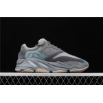 Adidas Yeezy Boost 700 Teal Blue Shoe In Dark Gray