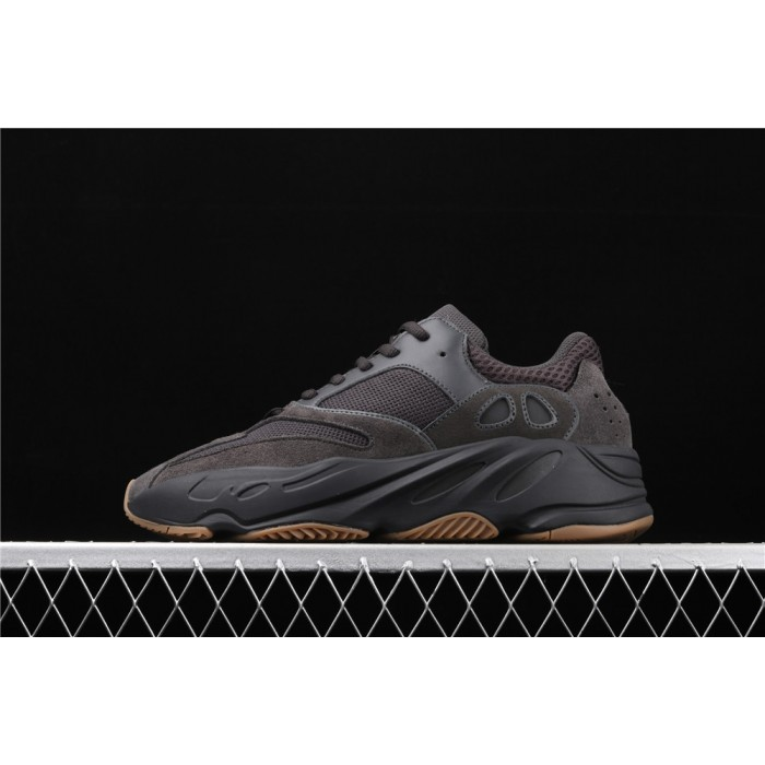 Adidas Yeezy Boost 700 Utility Black Shoe In Chocolate