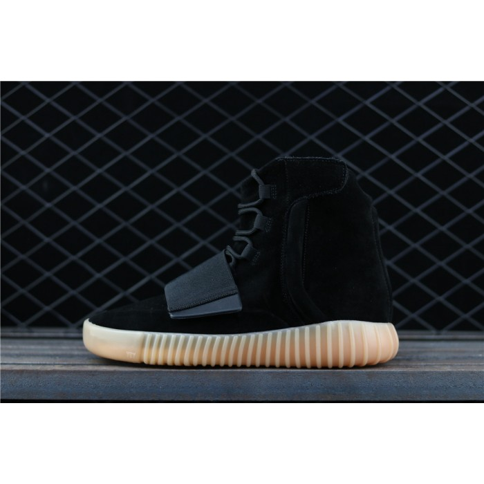 Adidas Yeezy Boost Basf 750 Glow In Dark Shoe In Black