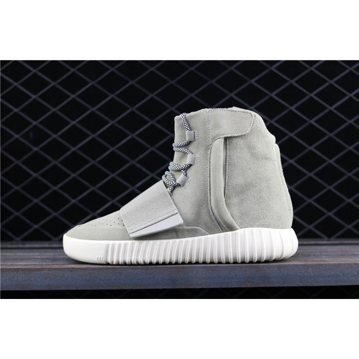 Adidas Yeezy Boost Basf 750 Glow In Dark Shoe In Green Grey