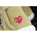 CDG PLAY x 750 Yeezy Basf Boost Shoe In Olive
