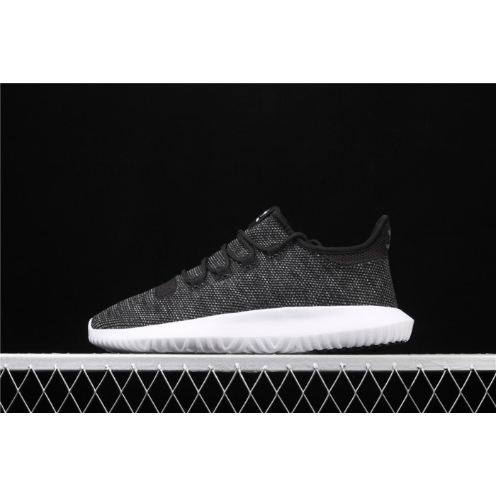Adidas Original Tubular Shadow Shoe In Black Chocolate