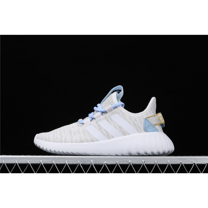 Adidas Tubular Doom Sock PK Shoe In Light Grey Ice Blue