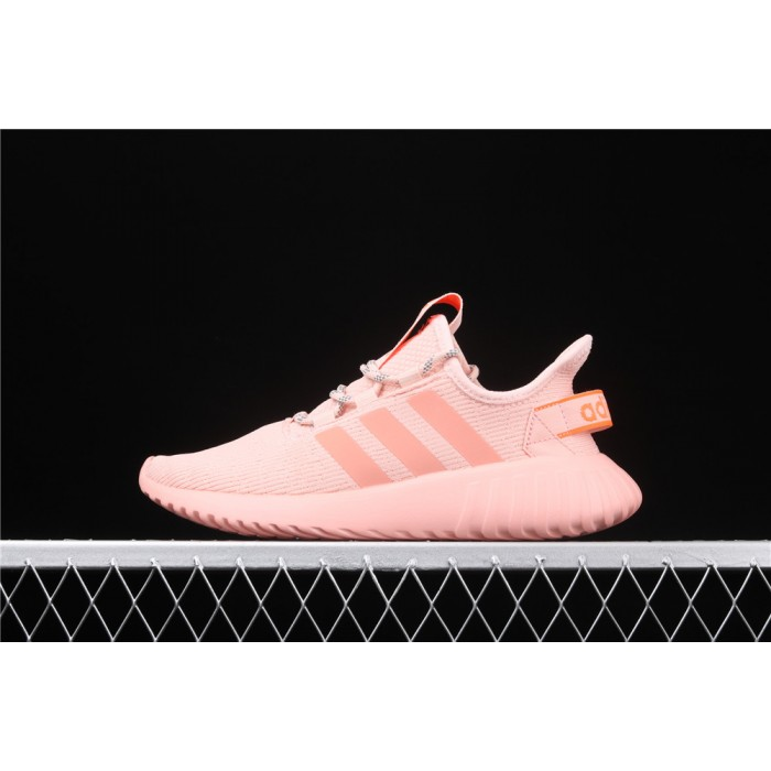 Adidas Tubular Doom Sock PK Shoe In Pink Orange