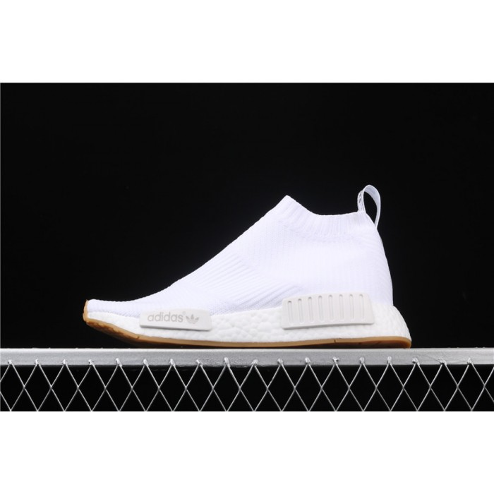 Adidas NMD Real Boost CS1 PK All White BA7208