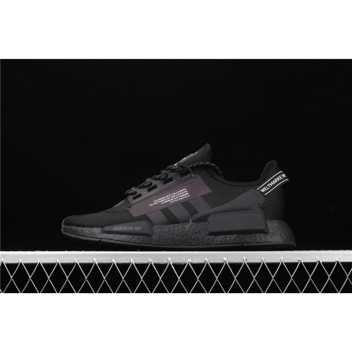 Adidas NMD Real Boost R1 V2 FW1961 Black 3M