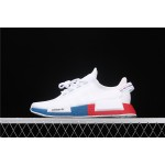 Adidas NMD Real Boost R1 V2 FX4148 Cream Blue Red