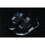 Mens Adidas NMD Real Boost R1 V2 FV9025 Black White