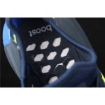 Mens Adidas NMD Real Boost R1 V2 FX3948 Blue Yellow