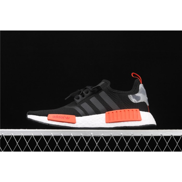 Adidas NMD Real Boost R1 AQ0882 Black Orange