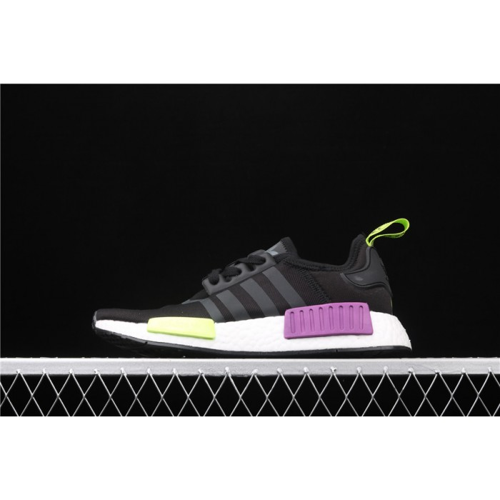Adidas NMD Real Boost R1 B96627 Purple Black