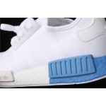 Adidas NMD Real Boost R1 EE6677 White Blue