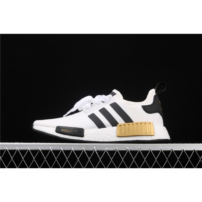 Adidas NMD Real Boost R1 EG5662 Cream Black