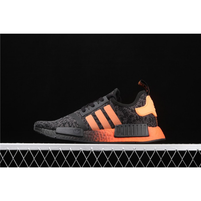 Adidas NMD Real Boost R1 EG7953 Black Orange