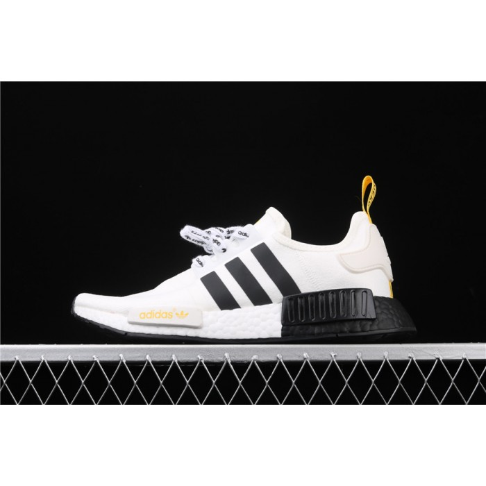 Adidas NMD Real Boost R1 FV2549 Cream Black