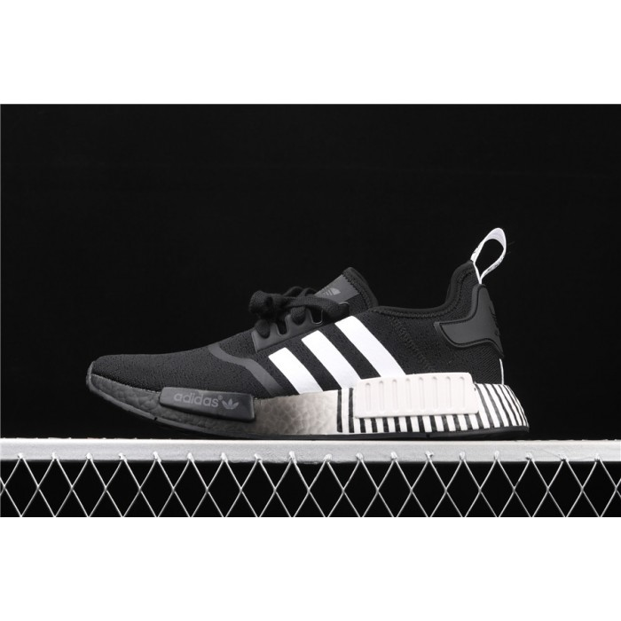 Adidas NMD Real Boost R1 FV3649 Black White