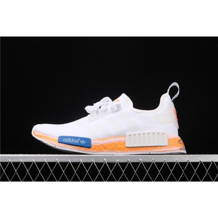 Adidas NMD Real Boost R1 FV7852 White Orange