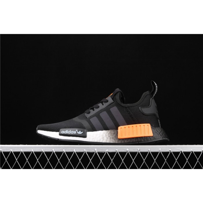 Adidas NMD Real Boost R1 FW0183 Black Orange