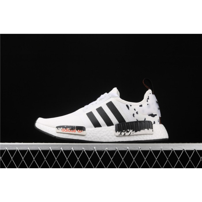 Adidas NMD Real Boost R1 FW7570 Cream Black