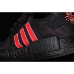 Adidas NMD Real Boost R1 G27576 Black Red