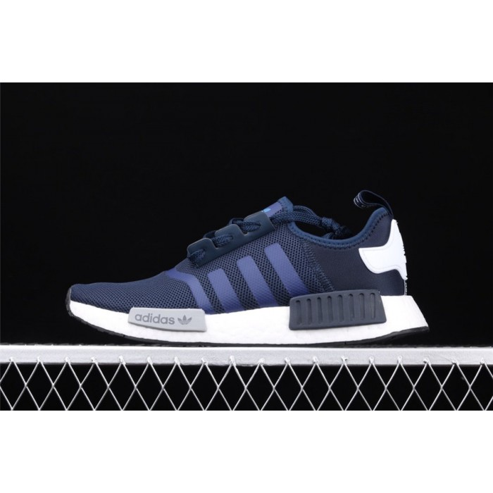 Adidas NMD Real Boost R1 Logo S79161 Dark Blue