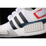 Adidas NMD Real Boost R1 Originals Taping EF0753 Cream White
