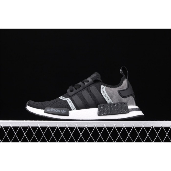 Adidas NMD Real Boost R1 Originals Taping F36801 Black