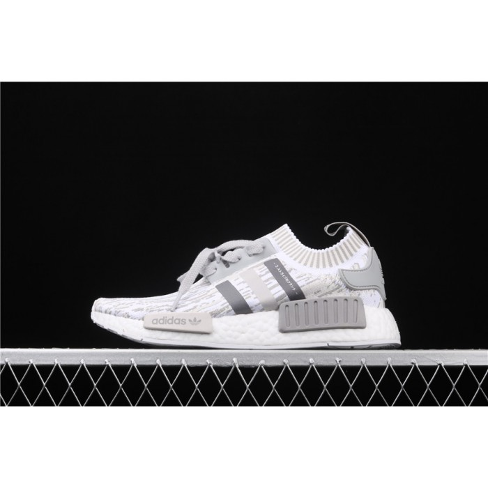Adidas NMD Real Boost R1 PK Boost BY9865 Gray White