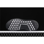 Mens Adidas NMD Real Boost R1 B8031 In Black White