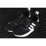 Mens Adidas NMD Real Boost R1 B42087 In Black