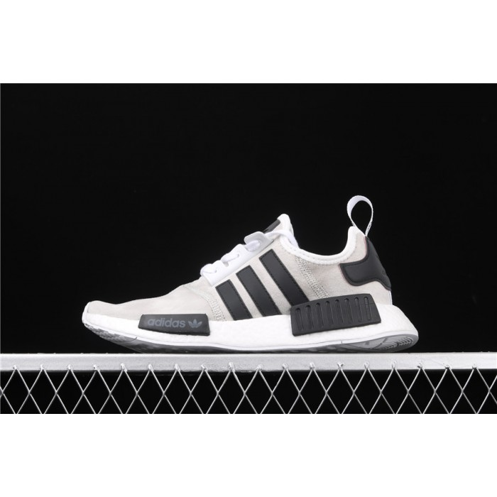 Mens Adidas NMD Real Boost R1 B97418 In Grey