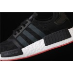 Mens Adidas NMD Real Boost R1 CQ2413 In Black