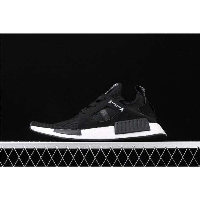 Adidas NMD Real Boost Primeknit OG XR1 BA9726 Black White