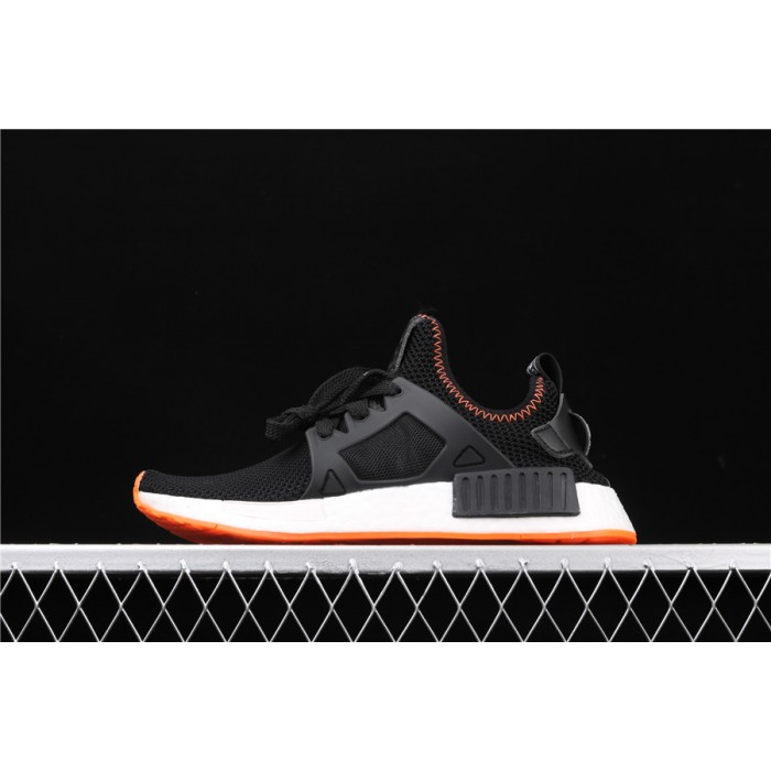 Adidas NMD Real Boost Primeknit Runner XR1 BY9924 Orange Black