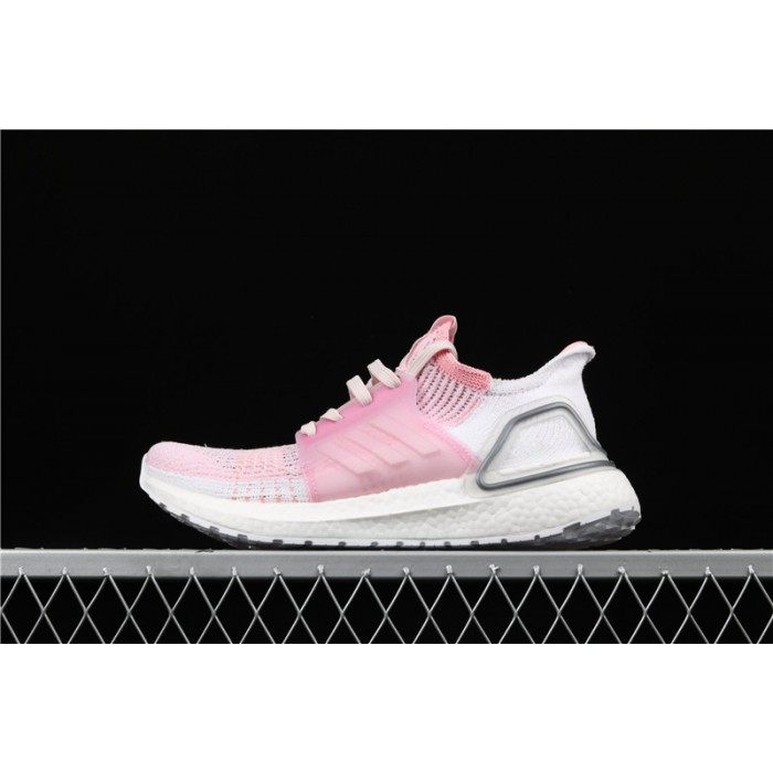 Women's Adidas Ultra Boost 19W 5.0 F35283 Pink White