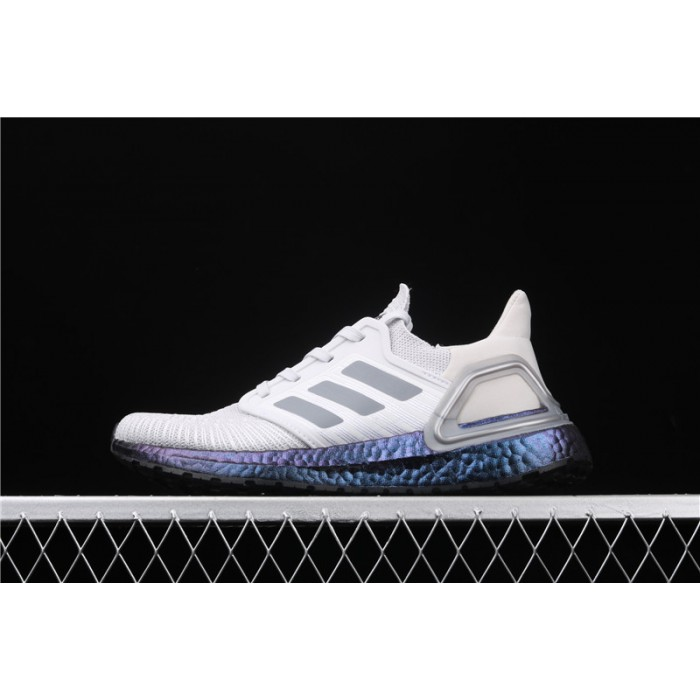 Adidas Ultra Boost 20 Consortium Blue EG0755 Grey