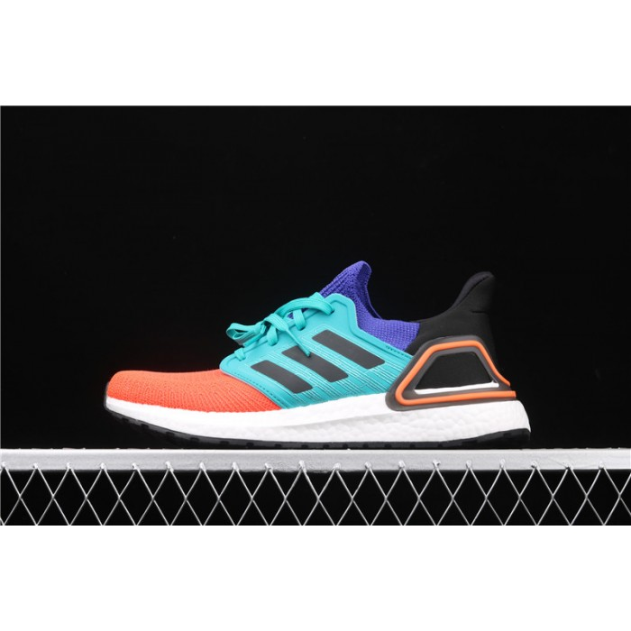 Adidas Ultra Boost 20 Consortium FV8331 Orange Blue