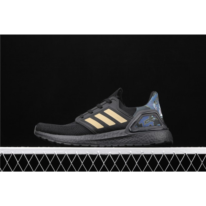 Adidas Ultra Boost 20 Consortium FW4322 Black Golden